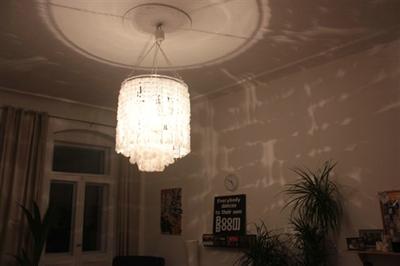 2300 kreise oder eine lampe aus plastikt ten die kreative seite der kirsten k. Black Bedroom Furniture Sets. Home Design Ideas